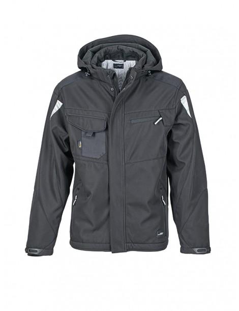 Veste softshell hiver Workwear JAMES & NICHOLSON