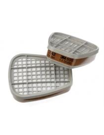 Paires de filtres antigaz et vapeurs A2 6055 3M