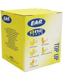 Recharge de bouchons d'oreille 3M™ E-A-Rsoft Yellow Neon, référence PD-01-010