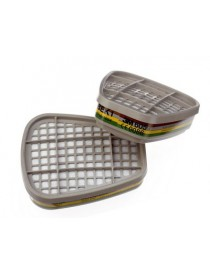 Filtre antigaz et vapeurs ABEK1 3M™ 6059 1 paires