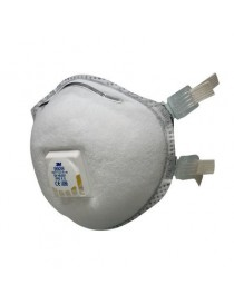 10 Masques antipoussière coque spécifique soudage 3M™ 9928 - FFP2, avec soupape Coolflow™ et joint facial