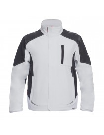 Blouson Softshell Galaxy anthracite et rouge