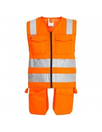 Gilet De Travail EN 20471 Orange