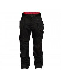 Pantalon Combat Avec Po. Pend.Noir