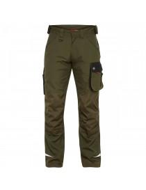 Pantalon De Travail Galaxy VERT FORET/NOIR