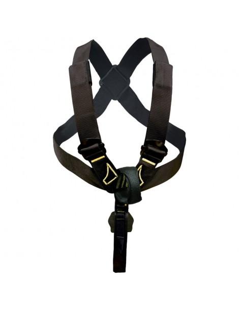Air Top Torse ajustable en forme de 8 compatible avec harnais
