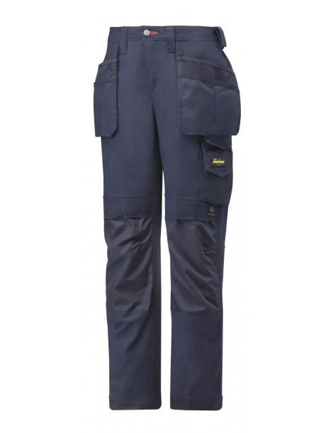 3714 Pantalon pour femmes avec poches holster, Canvas+ SNICKERS