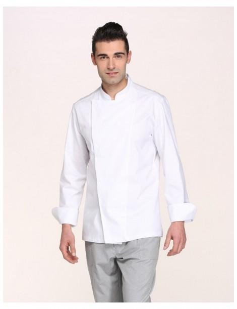 Veste Mirko manches longues (Blanc/Noir)