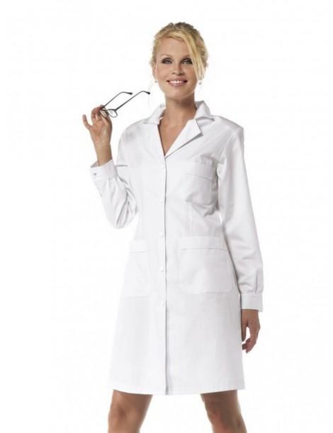 Blouse femme coton blanc