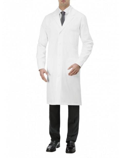 Blouse homme ARNO coton blanc