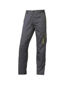 Pantalon Panostyle Gris-Vert DELTAPLUS