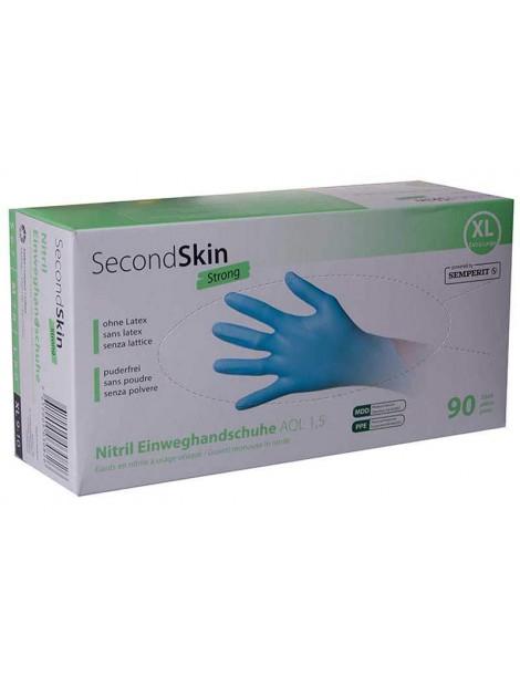 Gants jetables en nitrile by SEMPERIT Second Skin Strong